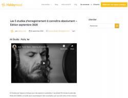 Votre studio dans les 5 studios d'enregistrement à connaitre à Paris !